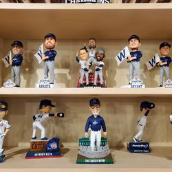 Still more Cubs bobbleheads