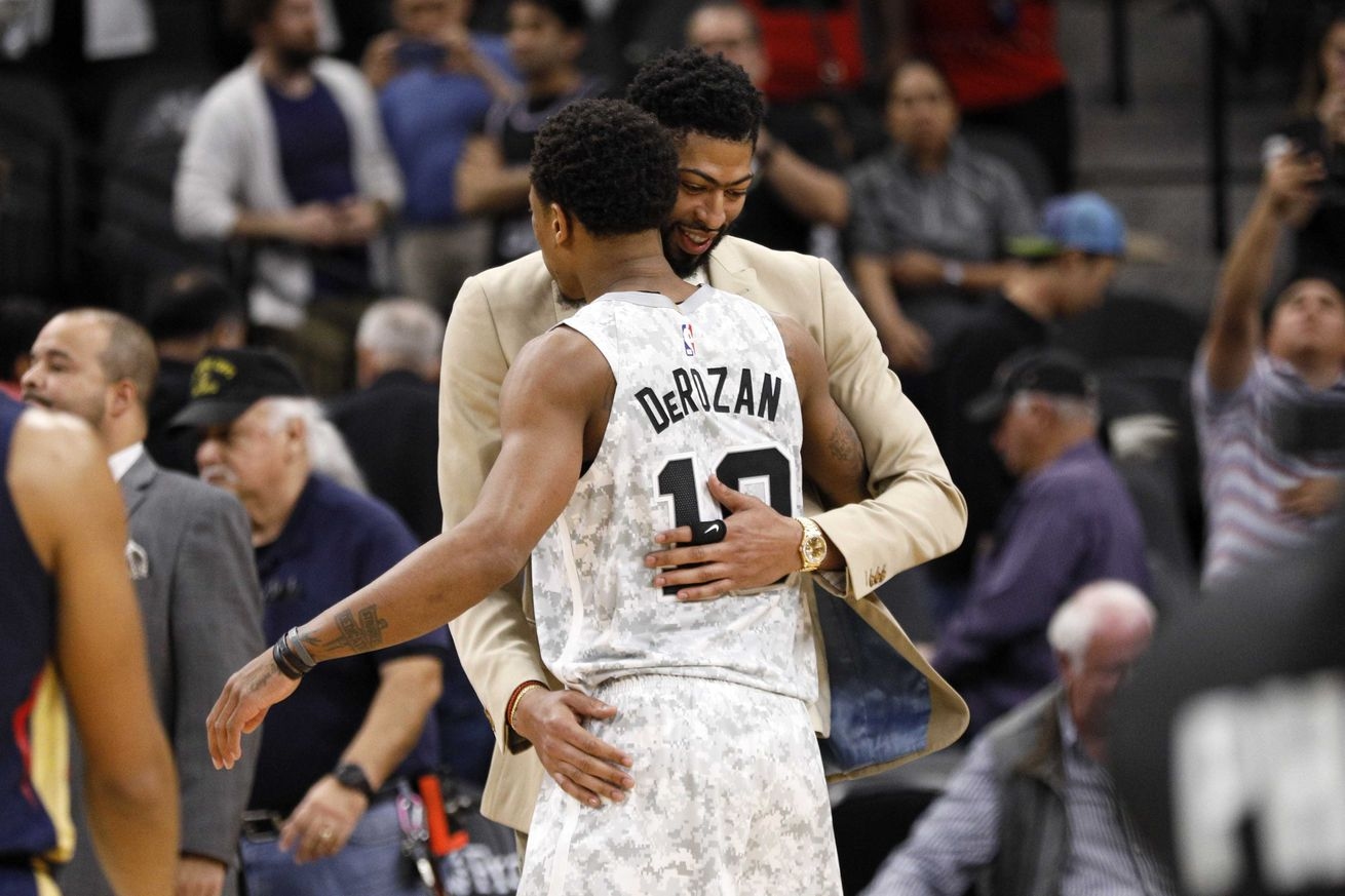 NBA: New Orleans Pelicans at San Antonio Spurs