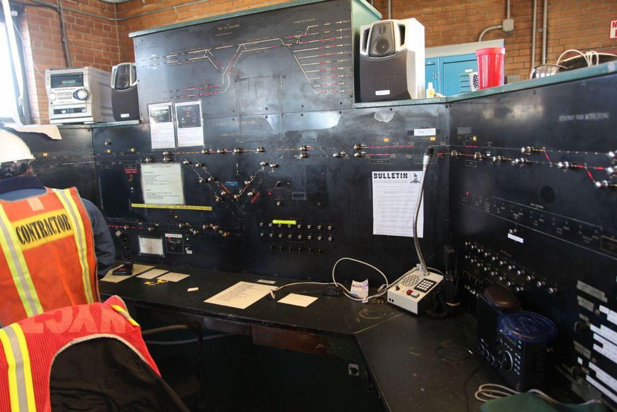 MTA subway signal system