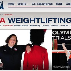 Sarah Robles is ranked as the No.1 female weightlifter in the United States. She will compete at the 2012 London Games this summer.