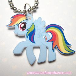 """<a href=""""http://www.etsy.com/listing/81824802/rainbow-dash-my-little-pony-friendship"""" rel=""""nofollow"""">My Little Pony</a>: the perfect gift for the brony in your life."""