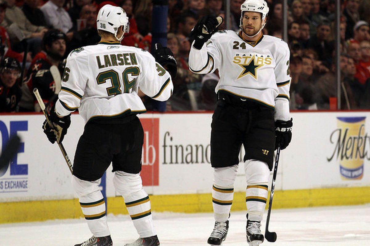 Stop. Larsen time?