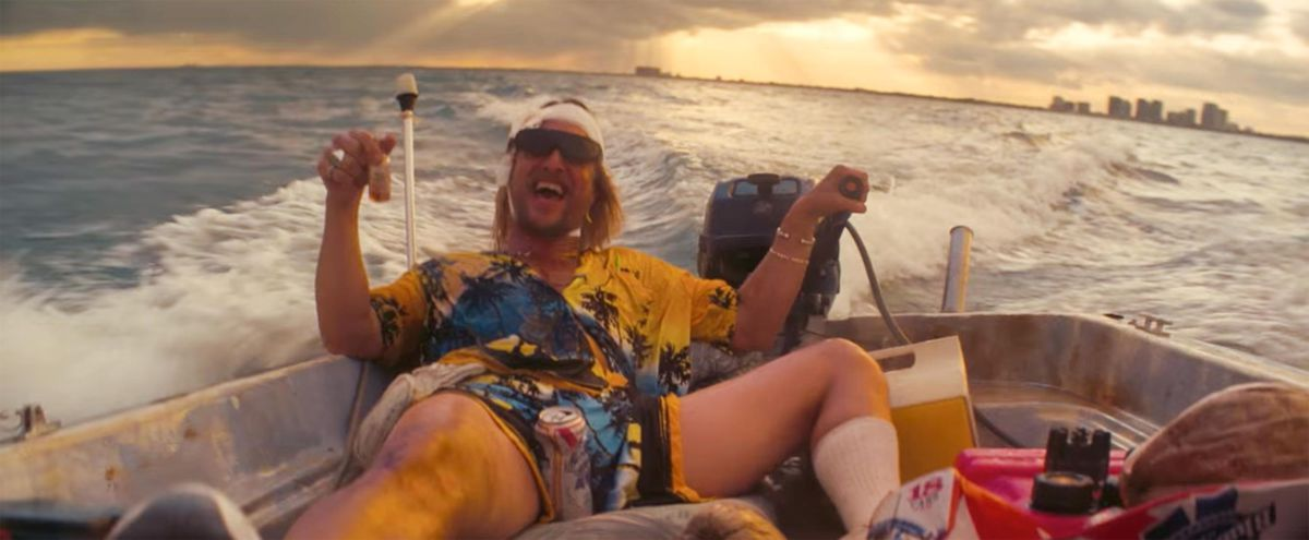 Matthew McConaughey as The Beach Bum