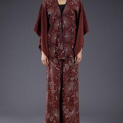 <b>Zandra Rhodes</b> '70s kimono set, $1250.