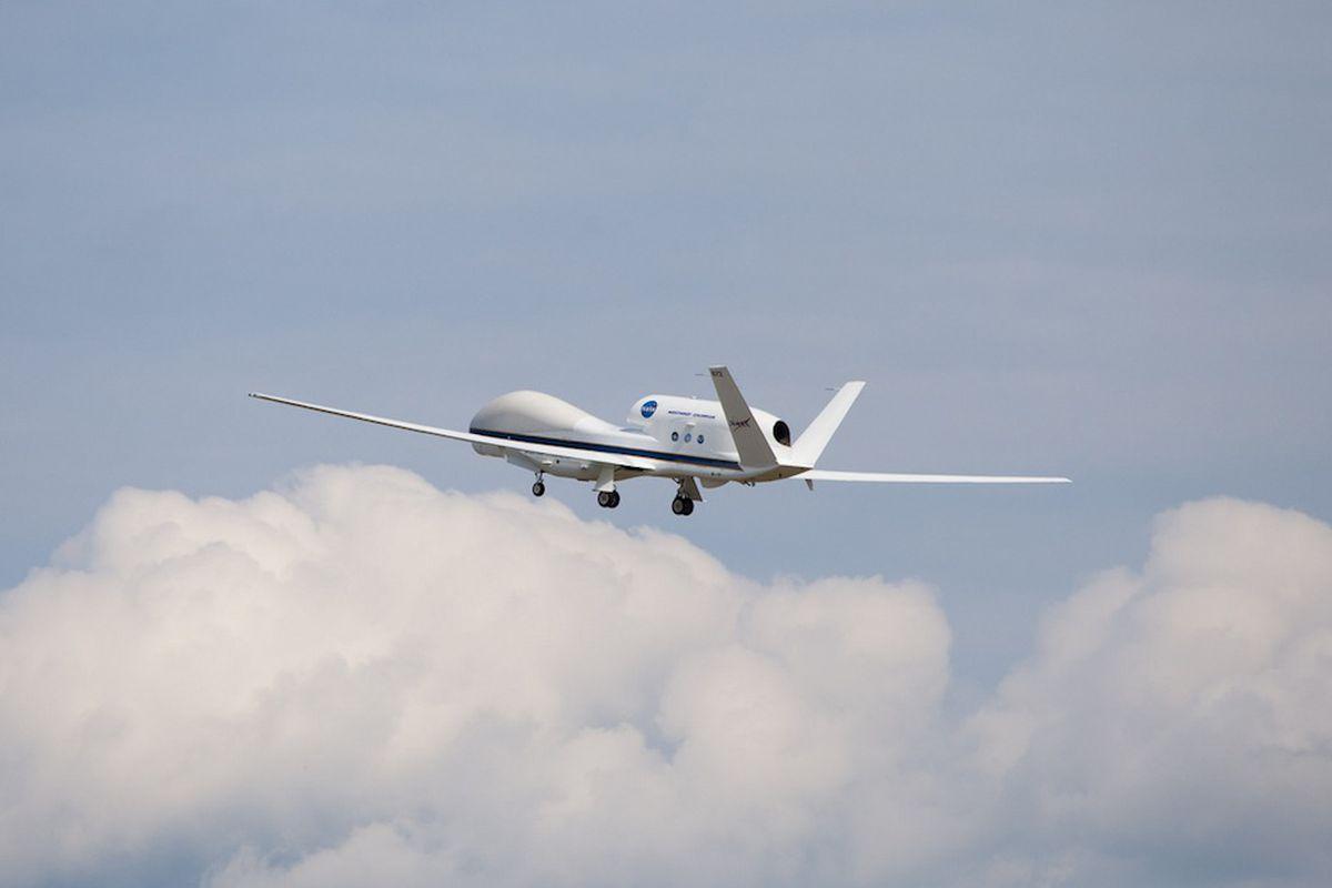 NASA Global Hawk flight (Credit: NASA Wallops)