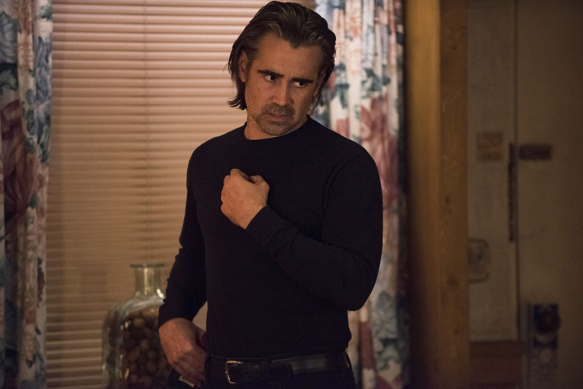Ray is almost framed for murder on True Detective.