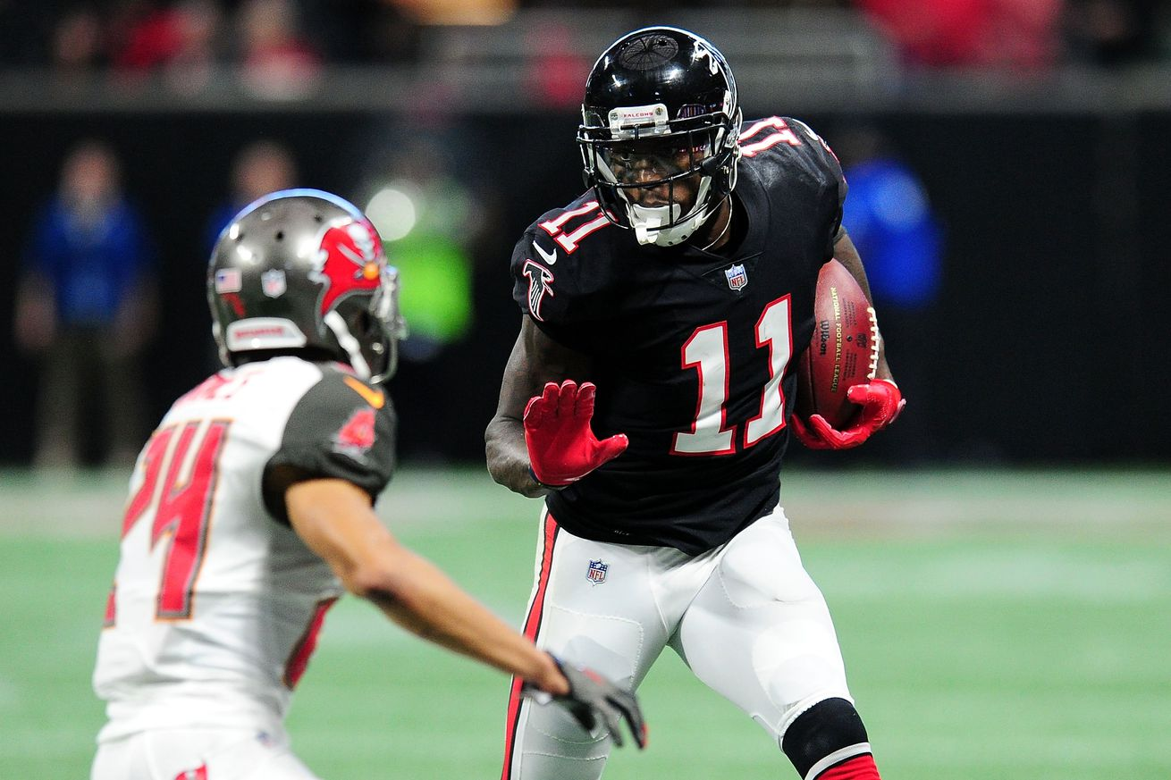 The Falcons are taking the right approach with Julio Jones