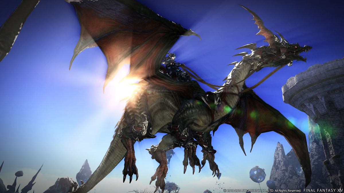 For Final Fantasy 14 director Naoki Yoshida, only one