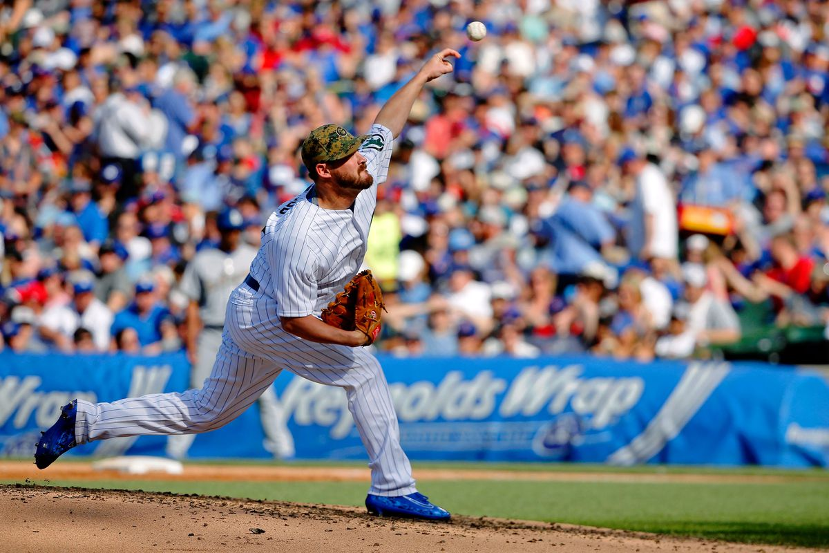 Need four innings of relief?  Call Travis Wood!