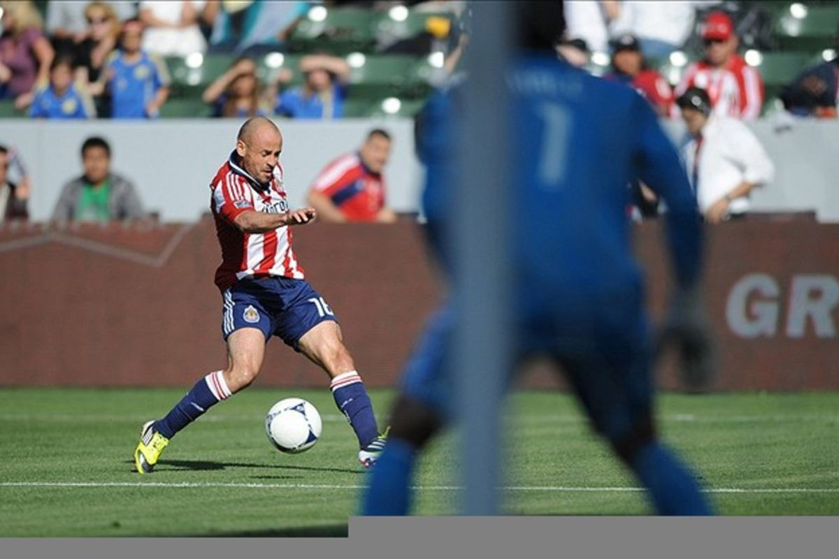 Mar 11, 2012; Carson, CA, USA; Chivas: firmly in 17th this week  Mandatory Credit: Kelvin Kuo-US PRESSWIRE