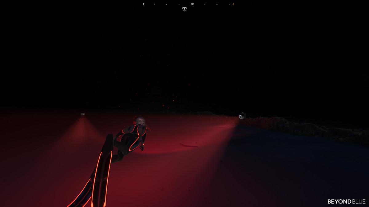 Dark abyss in Beyond Blue