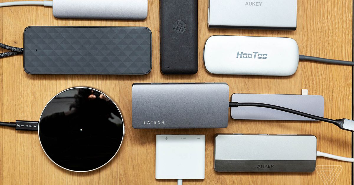 The Best Usb C Hub For Your New Laptop The Verge