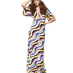 "<a href=""http://www.macys.com/campaign/social?campaign_id=298&channel_id=1&cm_mmc=VanityUrl-_-fashionstar-_-n-_n"">Kimono-Sleeve Maxi Caftan Dress by Nikki Poulos</a>, $89.00 at Macy's"