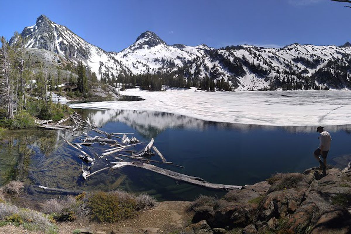 Ice Lake, in the Eagle Cap Wilderness