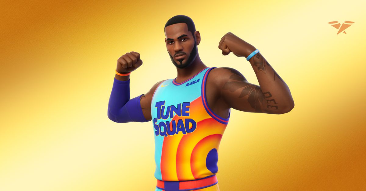 LeBron James is coming to Fortnite this week