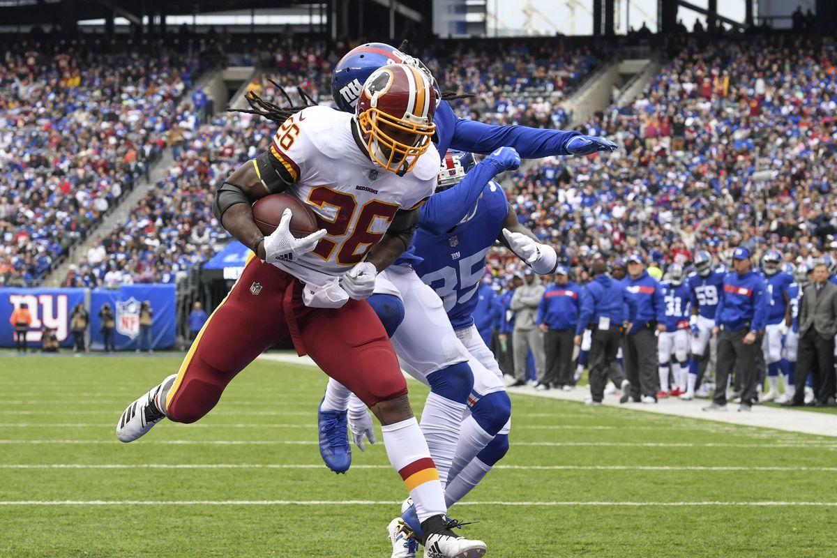 NFL Washington Redskinsw vs New York Giants