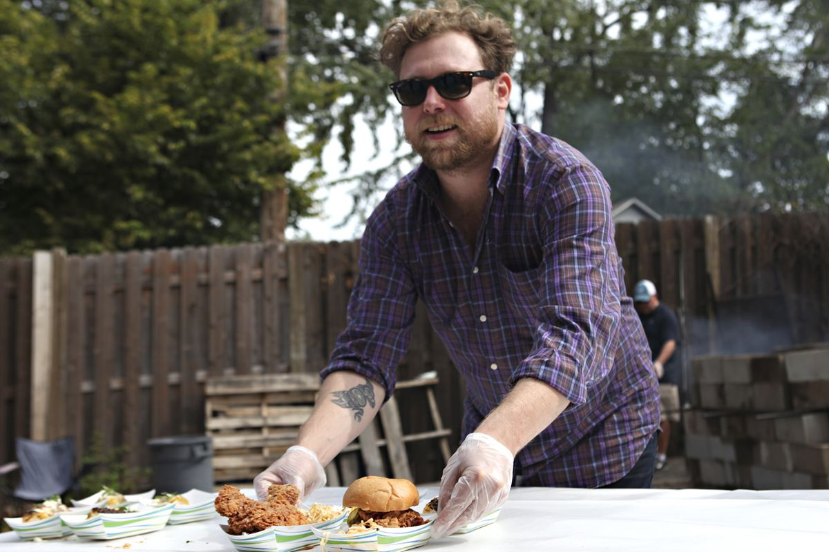 Say hey to Nick Rancone of Corner Table at Open Streets this Sunday.