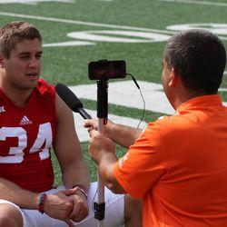 Wisconsin fullback Derek Watt talks about his aspirations for the upcoming season.