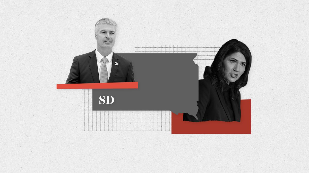 There's a heated governor's race in South Dakota between Rep. Kristi Noem and state AG Marty Jackley