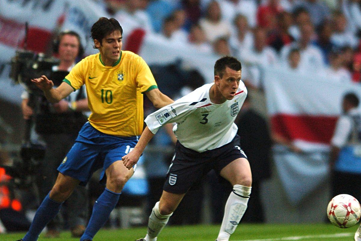 Soccer - International Friendly - England v Brazil - Wembley Stadium