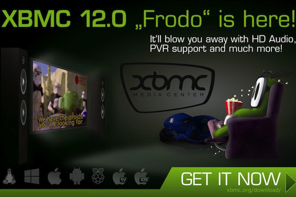 XBMC 12 announcement