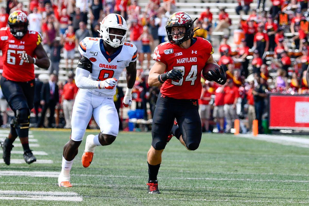 Jake Funk, Maryland football vs Syracuse