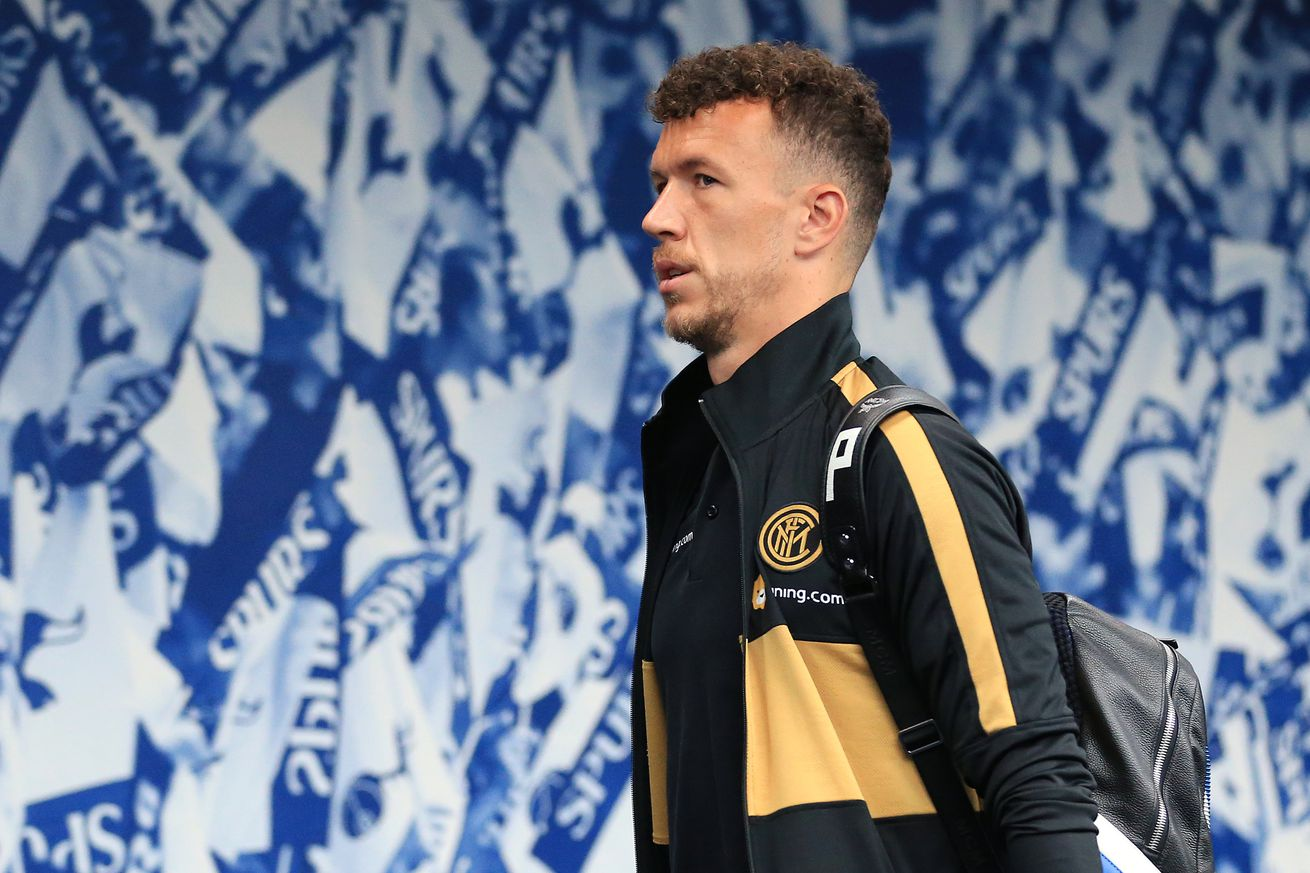 Ivan Perisic spotted getting his medical check ahead of Bayern Munich move