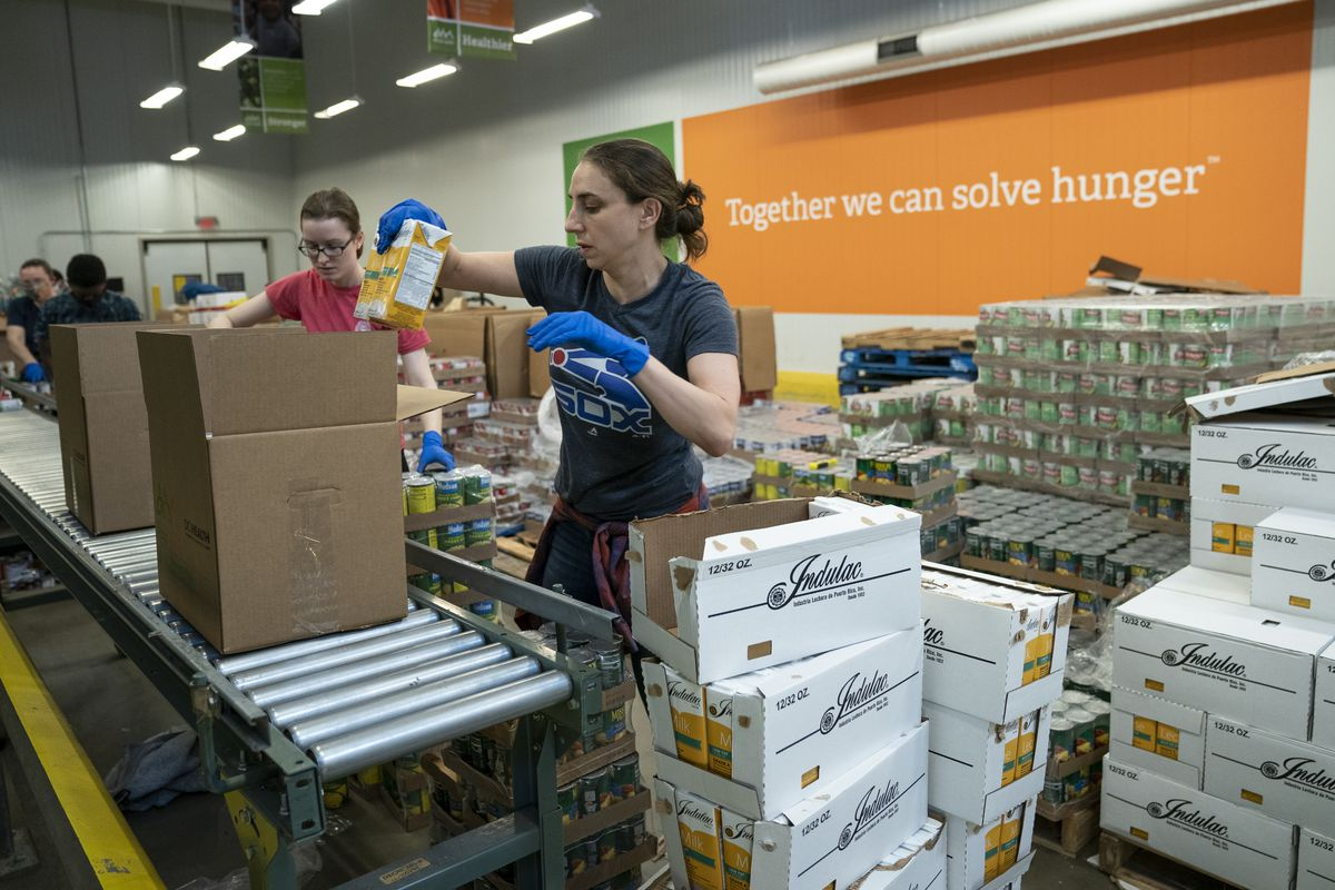 DC-Based Capital Area Food Bank Works To Distribute Food To Local Pantries