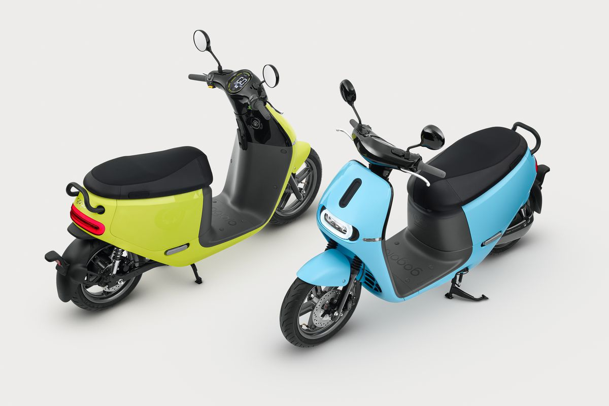 Gogoro S Colorful New Electric Scooter Is Twice As Cheap