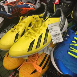 Adidas cleats, size 7.5, $35.98 (from $119.95)