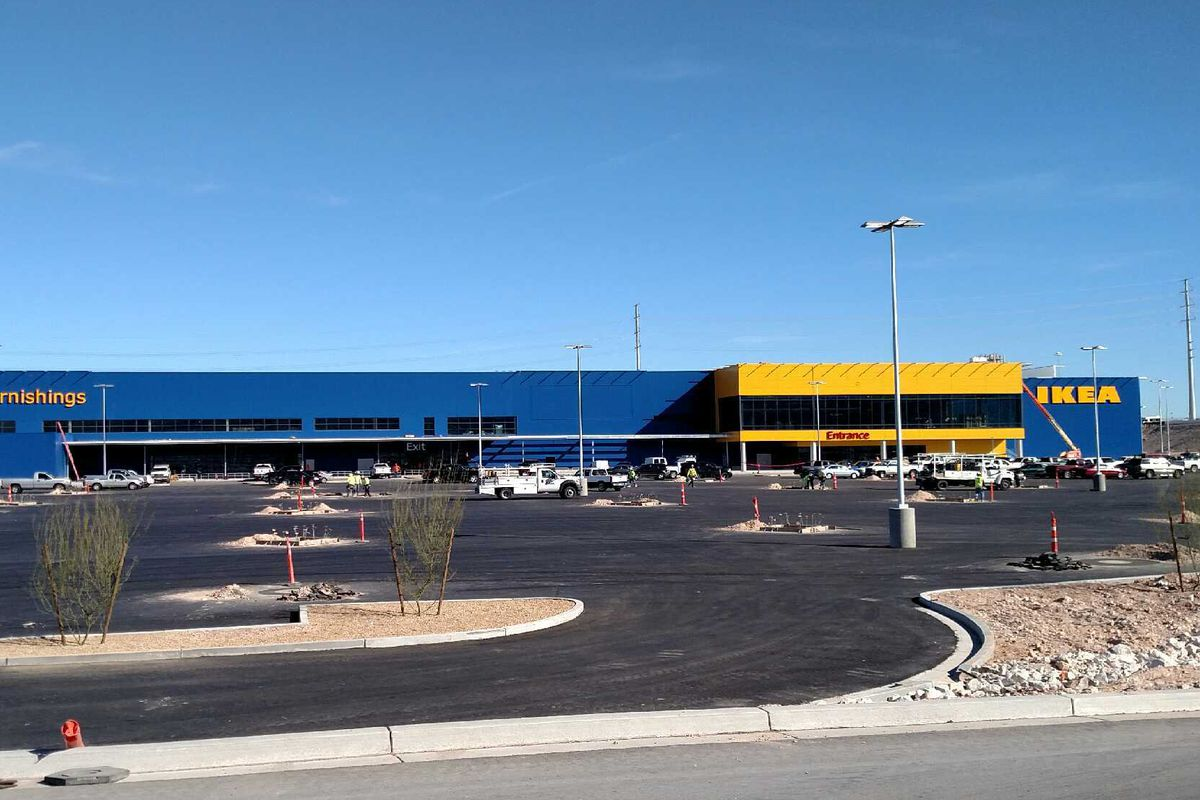 ikea unleashes an opening date on an unsuspecting las vegas eater vegas. Black Bedroom Furniture Sets. Home Design Ideas