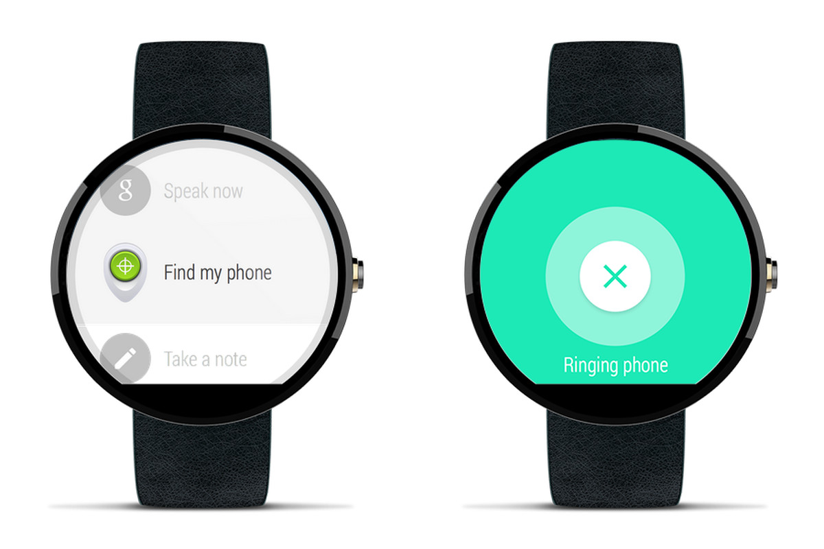 Android Wear android wear can now help you find your lost phone - the verge