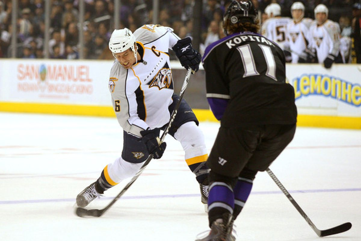 Wise move by one Mr. Kopitar.
