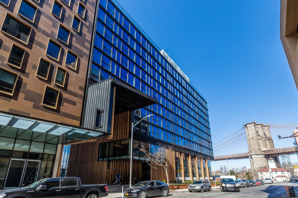 Tour 1 Hotels New Sustainable Nyc Hotel In Brooklyn Bridge Park Curbed Ny