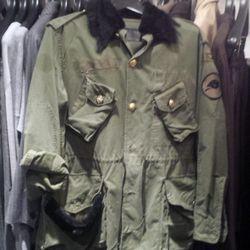 Tortoise military jacket, one size, $247.50 (orig. $495)