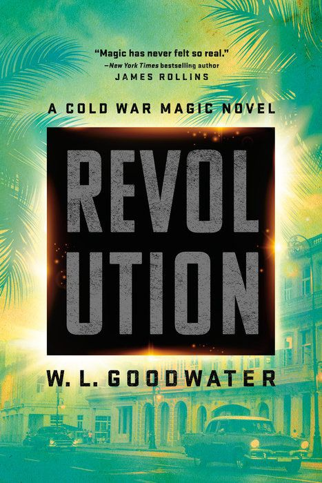 revolution cover with green plants on it