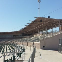Another view of the third-base side stands