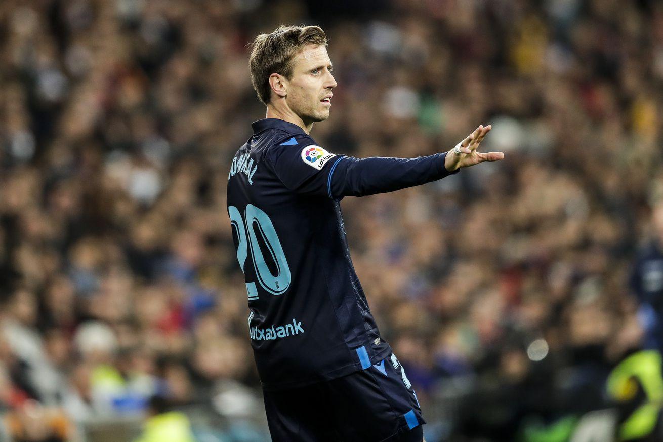 Sociedad want to make Barca suffer, says Monreal
