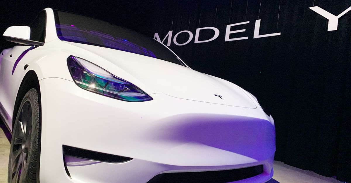 Tesla's Model Y simply received a $3,000 value reduce - The Verge thumbnail