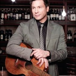 """<b>Rocco DiSpirito</b>: That's right, <b>Rocco DiSpirto</b> has lots of guitars, too.  No one knows why he picked up an axe in the first place, but like many dudes, it was probably to impress a girl — maybe <a href=""""http://eater.com/archives/2010/03"""