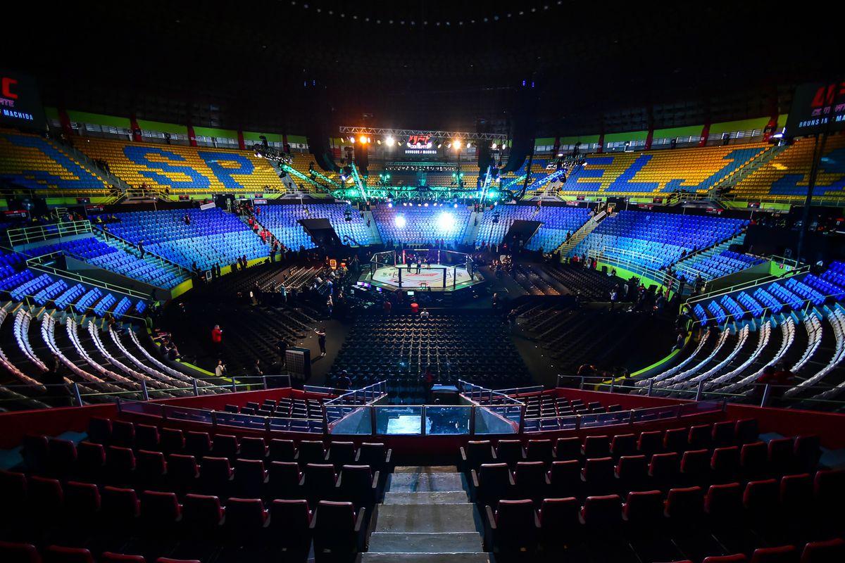 MMA: UFC Fight Night-Sao Paulo-Brunson vs Machida