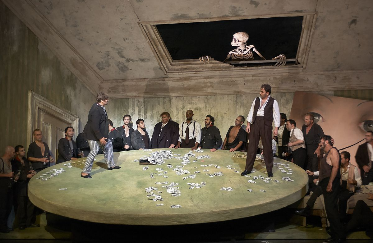 """""""The Queen of Spades"""" pictured in a staging by the Canadian Opera Company, will be presented at Lyric Opera."""