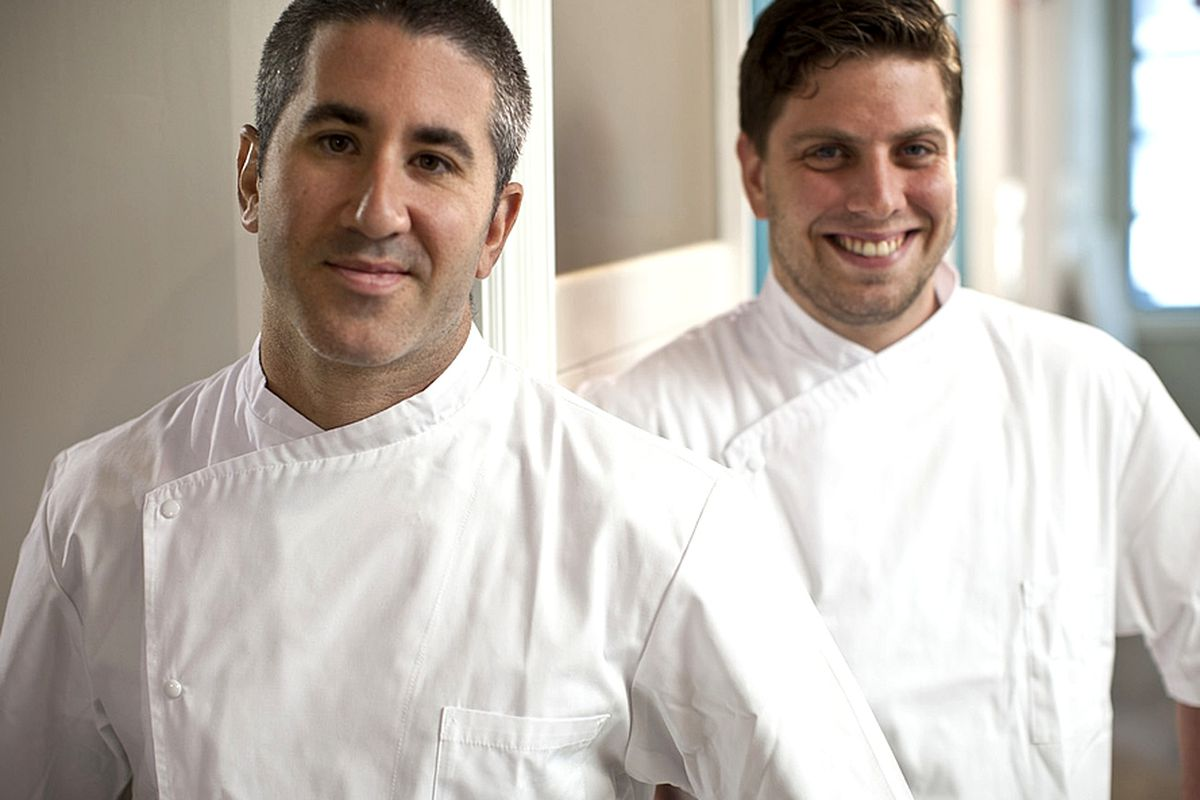 Mike Solomonov and Yehuda Sichel at Citron and Rose