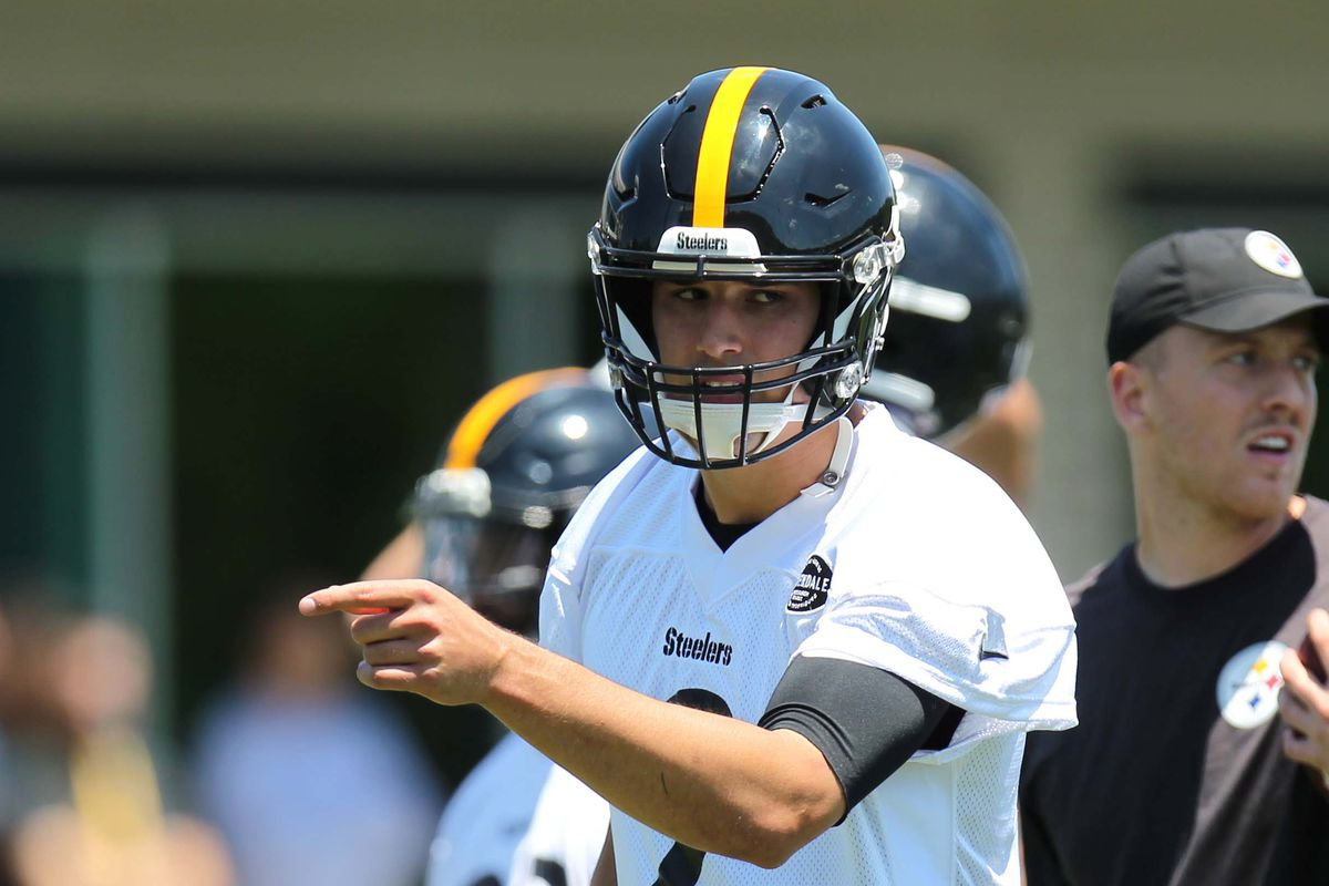 """finest selection 80b8f 0863f Steelers Minicamp Recap, Day 3: Workouts end with """"young guy ..."""