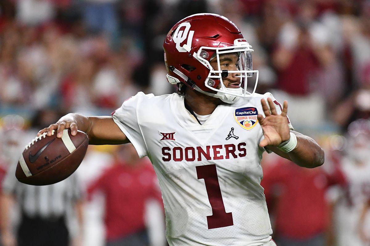 new styles 2cd1a 6a0ec Oklahoma Football: Kyler Murray announces choice to play in ...