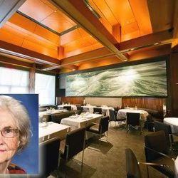 "<a href=""http://eater.com/archives/2012/03/21/octogenarian-food-critic-reviews-le-bernardin.php"">Octogenarian Food Critic Reviews Le Bernardin</a>"
