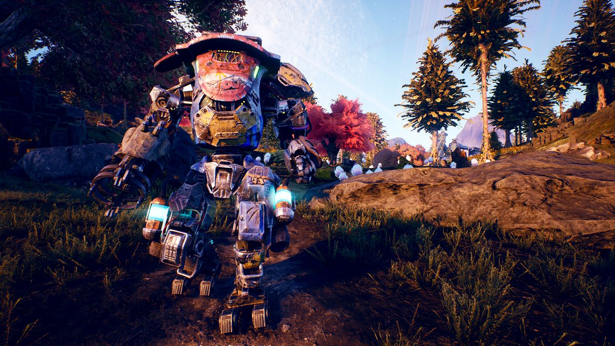 The outer worlds - a mech