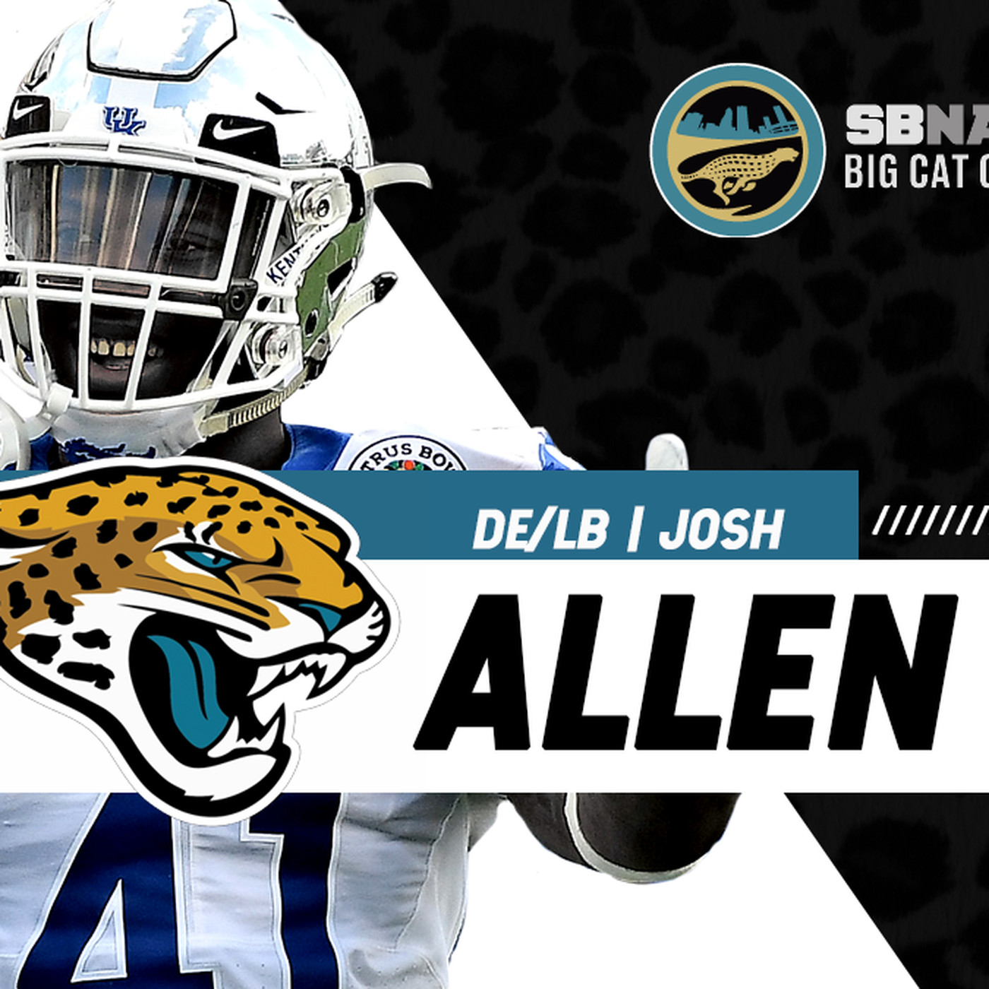 online retailer 0eb11 f70f3 What are the Jaguars getting in Josh Allen? - Big Cat Country