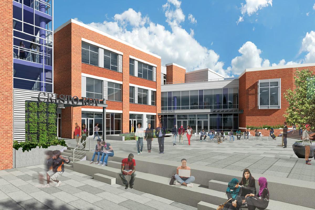 Rendering of the Cristo Rey campus