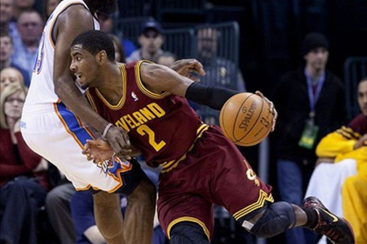 Kyrie. Monkey-fighting. Irving.